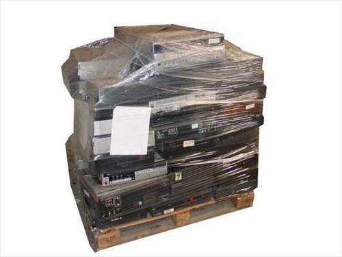 Various Pallet  1 Pallet of Defective VCRs for Parts