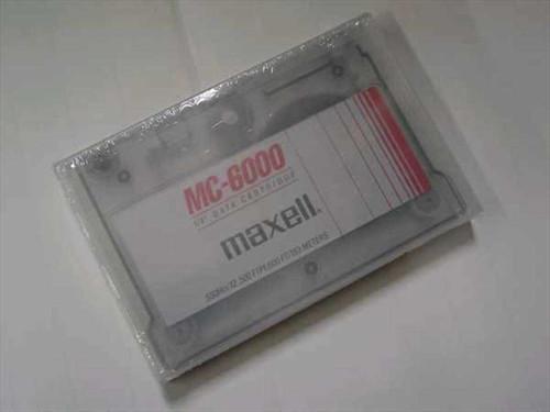 "Maxell MC-6000  1/4"" Data Cartridge"