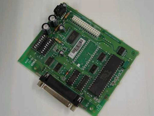 Okidata 4YA4021-1002G  70004601 Serial Card 100 Series Printers RS-232C