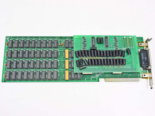 Zenith Memory Board 8 Bit ISA Long Card w/ 85 - 3041 - 1 85-2960-1