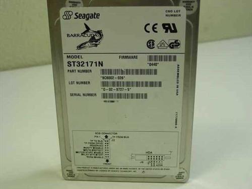 """Seagate ST32171N  2.1GB 3.5"""" 7200 RPM SCSI Barracuda Hard Drive"""