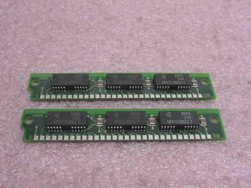Samsung KMM591000BN-7  1MX9 30 pins 70ns Memory Ram Kit (2x1M)