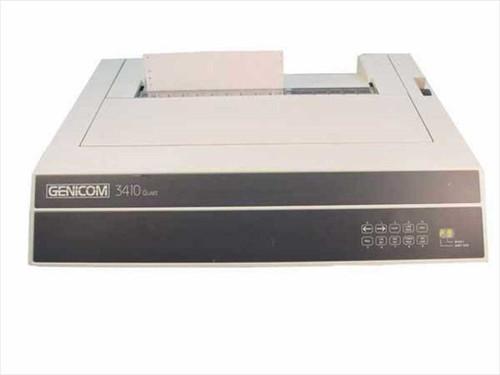 Genicom 3410  Quiet Dot Matrix Printer