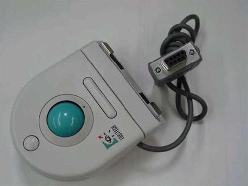 Logitech T-CC3  Mouse Serial Trackman Portable