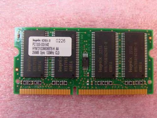 Hynix 256MB PC133   256MB PC133 SODIMM144-pin CL3 Laptop Memor