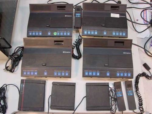 Dictaphone 2870  Lot of 4 2870 Cassette Transcriber / Recorder