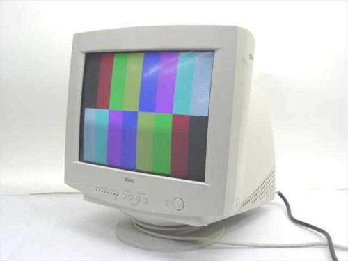 """Dell E551c  15"""" SVGA CRT Monitor - White"""