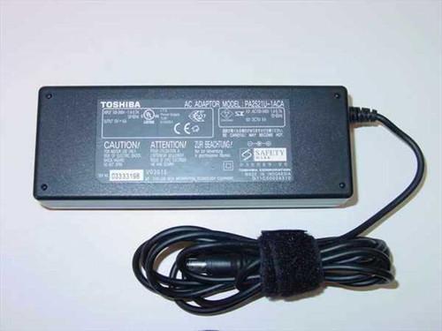 Toshiba PA2521U-1ACA  AC Adaptor 15VDC 6 A Barrel Plug - Satellite 2