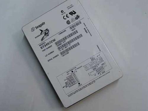 "Seagate ST34572W  4.5GB 3.5"" SCSI Hard Drive 68 Pin"