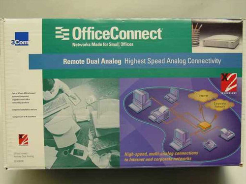 3COM 3C430000  OfficeConnection, Remote Analog - 790/000625