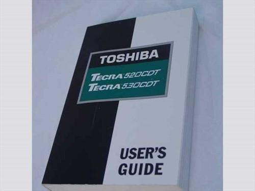 Toshiba Tecra 520CDT/530 CDT   Toshiba Tecra 520CDT/530CDT User's Guide