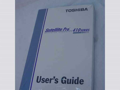 Toshiba Satellite Pro 410 Series  User's Guide