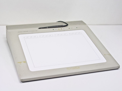 HP 9111A  Vintage HPIB Programmable Graphics Tablet with Pen