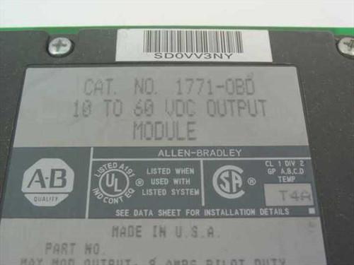 Allen-Bradley 10 - 16VDC Output Module (1771-0BD)