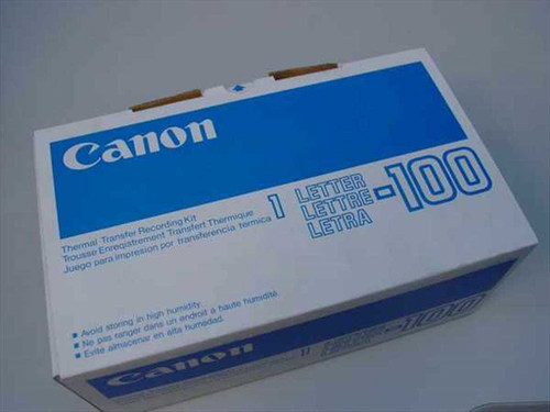 Canon 1-Letter-100  Thermal Fax Kits Models 610 620 630