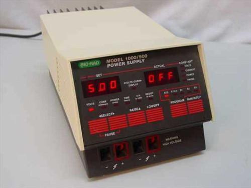 BIO-RAD 1000/500  Bio-Rad Electrophoresis Power Supply 214 BR