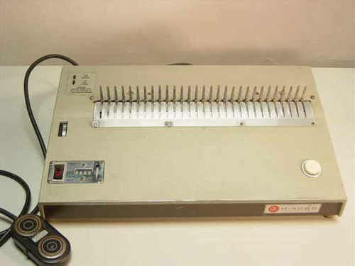 GBC 344-BN  Electric Foot Operated Binding Machine