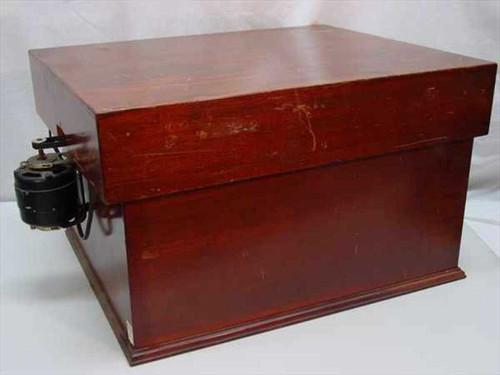 The Eppley Laboratory, Inc. 200  Vintage Scientific Unit in Wooden Cabinet