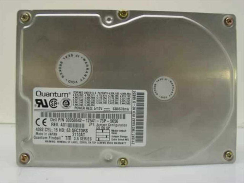 "Dell 58642  2.1GB 3.5"" IDE Hard Drive - Quantum 2110AT"