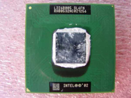 Intel RH80532NC021256  1.50 GHz Mobile Celeron Micro-FCPGA Processor