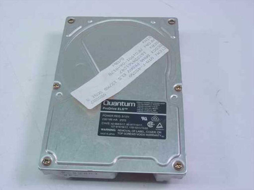 "Quantum 170S  170MB 3.5"" SCSI Hard Drive ELS - PI16S02308N"