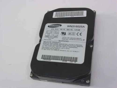 """Samsung WN316025A  1.6GB 3.5"""" IDE Hard Drive"""