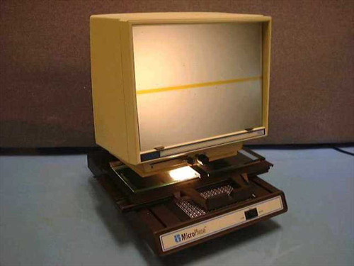 MicroPhase 750A  Anacomp Microfiche Reader