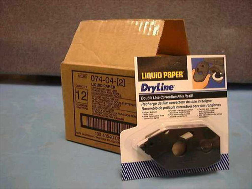 Sanford 07404  Liquid Paper - Dryline Correction Film Refill 2-Li