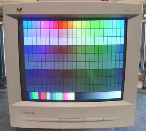 """Viewsonic A70  17"""" SVGA Monitor VCDTS21543-3R"""