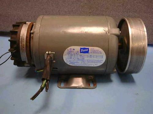 Doerr Type P  1.5 HP 3275 RPM Electric Motor w/Brake