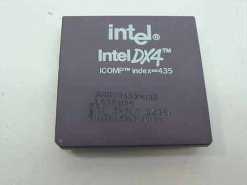 Intel SX900  486DX4/100 Processor - A80486DX4-100