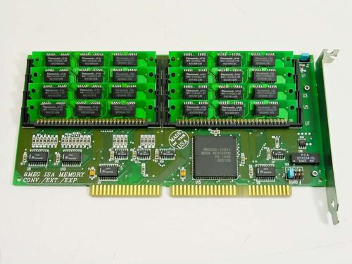 Boca 4374  8MB ISA Memory Expansion card 30 Pin
