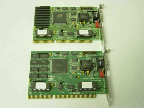 Diamond Stealth VRAM   Stealth VRAM ISA Video Card 1MB Ram