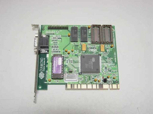 Diamond SpeedStar 64 PCI  Diamond Speedstar 64 PCI Cirrus Logic