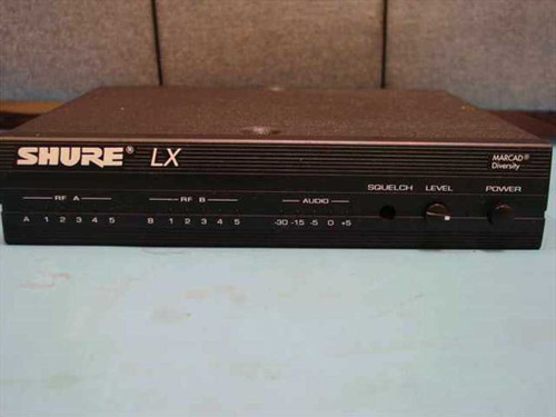 Shure LX4-CF  Wireless Microphone VHF Receiver