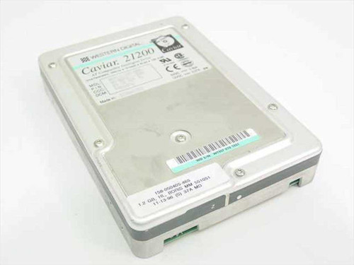 "Western Digital WDAC21200  1.2GB 3.5"" IDE Hard Drive"