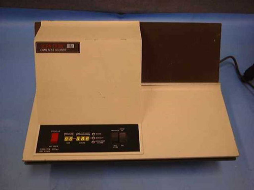 Scantron 888-MP  OMR Optical Mark Reader Scoring Machine - Stand Al