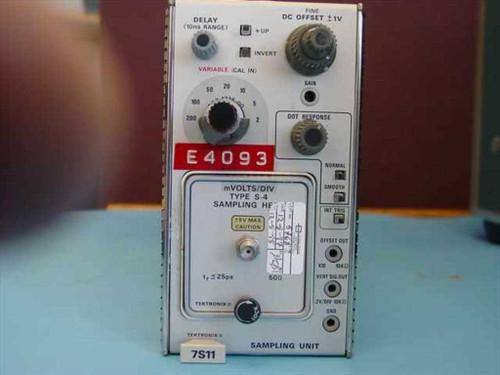 Tektronix 7S11  Sampling plug-in w/S-4 Head Used in the 7000 serie