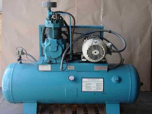 Quincy QEH 7.5-80  10 HP Air Compressor 200 Gallon