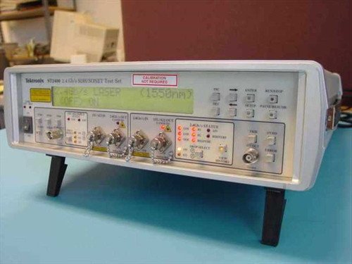 Tektronix ST2400  2.4Gb/s SDH/Sonet test set jitter wander analyzer