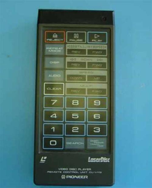 Pioneer CU-V113  Remote Control Unit for Laser Disk CLD-V2400 & CLD