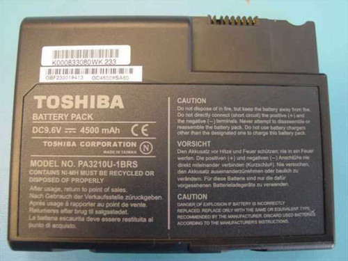 Toshiba PA3210U-1BRS  Satellite 1100 1105 9.6V 4500 MAH Battery