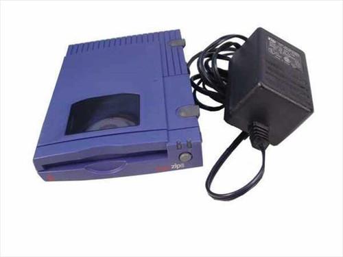 Iomega Z100S2  Zip 100 Drive External SCSI w/AC Adapter 02903B04
