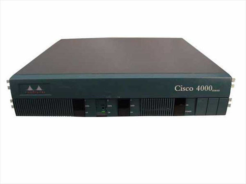 Cisco C4500  Cisco 4000 Series Router Chassis W/2 Modules & AC