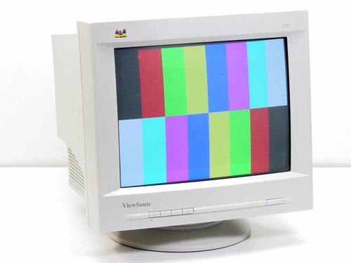 "Viewsonic E50  15"" SVGA CRT Monitor VCDTS23284-4M"
