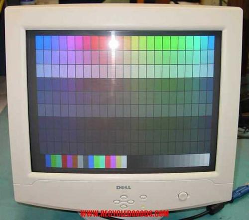 """Dell E770P  17"""" SVGA Color Monitor 1280 x 1024"""