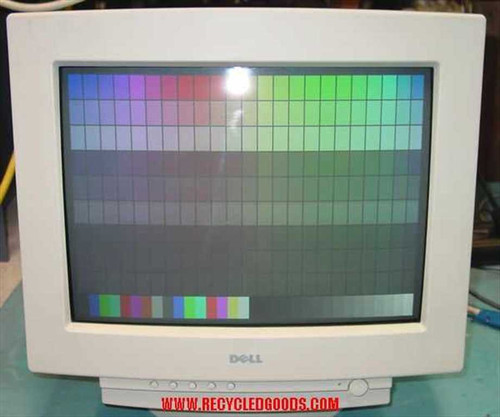 "Dell M770  17"" SVGA .27 Dot Pitch Color CRT Monitor"