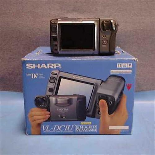 Sharp VL-DC1U  Viewcam Digital Camcorder Sold for Parts