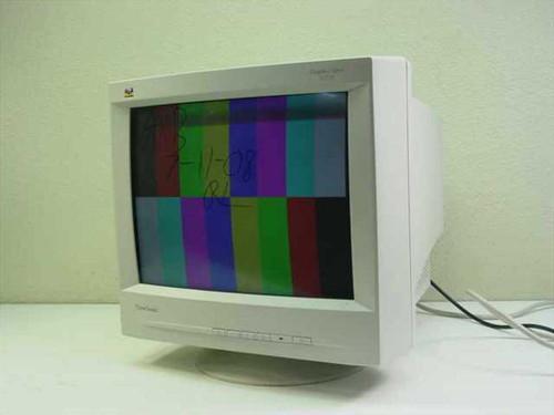 """Viewsonic G771  17"""" SVGA Monitor VCDTS21353"""