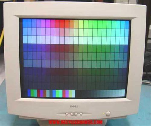 """Dell M780 17"""" CRT SVGA Color Monitor 1600 X 1200 .26DP"""
